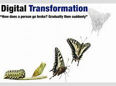 Digital transformation the key points and some bottom