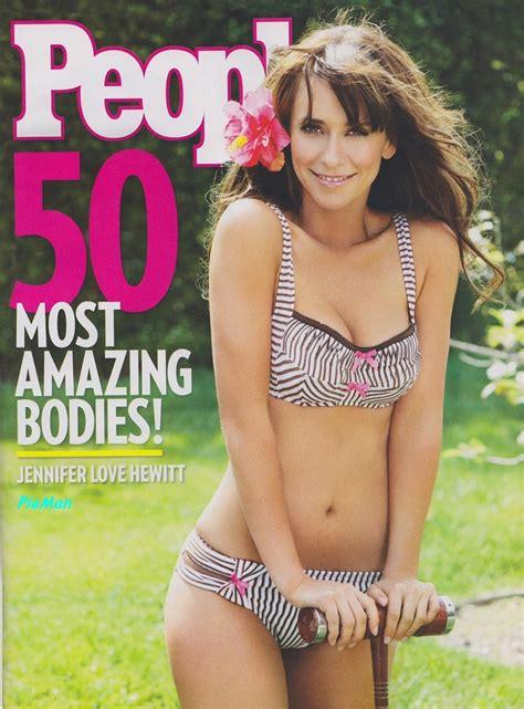 foto de Jennifer Love Hewitt en bikini para la revista 'People