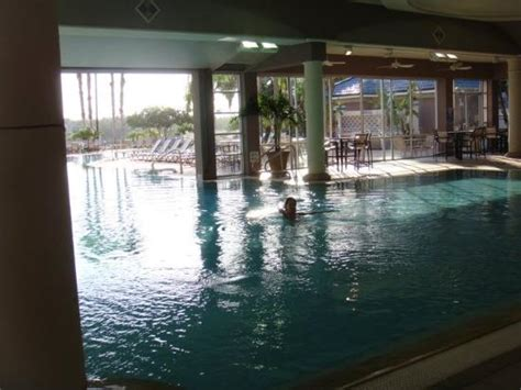 Indoor/outdoor Pool-picture Of Bluegreen Fountains