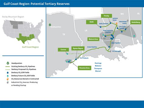 Denbury Resources - CO2 EOR Enhanced Oil Recovery Carbon ...