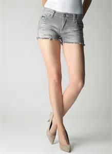 womens crystal cove cut off denim shorts newport grey wash