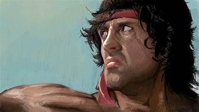 Rambo Stallone Sylvester Wallpapers 4k Artwork Desktop
