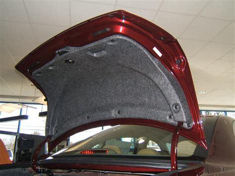 honda accord dr trunk lid insulator kit