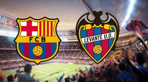 «барселона» упустила победу над «леванте». Барселона - Леванте 17 януари bet365   365 Футболни Прогнози