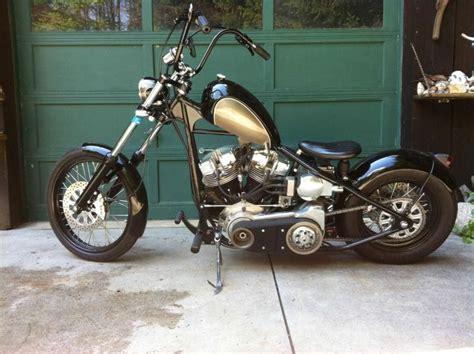 Buy 1976 Harley Davidson Fxe Custom Chopper Shovelhead On