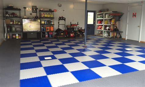 Diamond Flex Tiles ? PVC Garage Flooring
