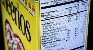 Nutrition Labels Set For Major Overhaul