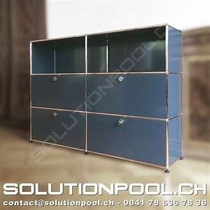 Usm Second Hand : usm highboard anthrazit solutionpool first class second hand for home and office ~ Sanjose-hotels-ca.com Haus und Dekorationen