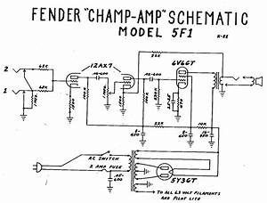 Fender Champ 5f1 Wiring Diagram