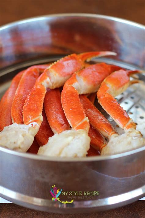 snow crab legs recipe steamed snow crab legs i like to sprinkle old bay on them before steaming fish seafood