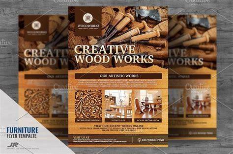 wood works  wood craft flyer  images flyer