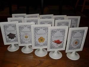 Table Mariage Champetre : mariage 15 septembre 2012 cot face le nom de table ~ Melissatoandfro.com Idées de Décoration
