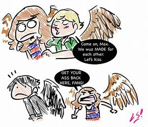 Fan Art: Maximum Ride (Fang and Dylan) | teenfictionbooks
