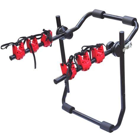 bike rack for hatchback universal 3 bike bicycle hatchback car mount rack stand