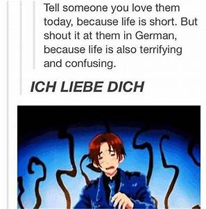 *shouts random German phrases at loved ones | Hetalia ...