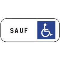 Panneau Stationnement Handicapé : panonceau stationnement r serv handicap m6h ~ Medecine-chirurgie-esthetiques.com Avis de Voitures
