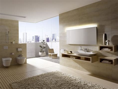 modern bathroom  minimalist design  toto