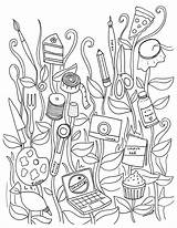 Sewing Coloring Machine Printable Sheets Getdrawings sketch template