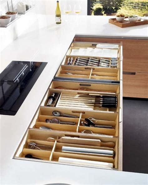 kitchen drawer organizers   clean  clutter