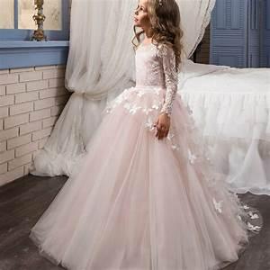 aliexpresscom buy fancy flower baby girl dress child With robe de cortege femme