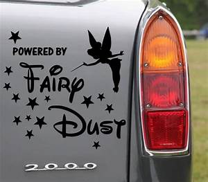 Tinkerbell Powered By Fairydust version 1 - Lovely Car