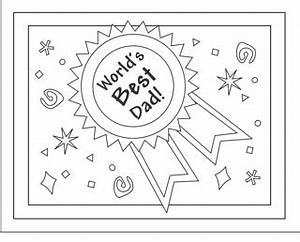 Fathers day DIY colouring card printables – hobby in a box