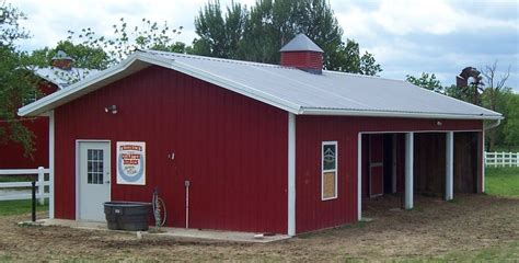 loafing shed kits missouri worldwide steel buildings barn construction