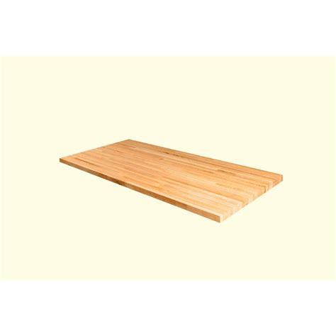 72 In X 36 In X 15 In Wood Butcher Block Countertop In