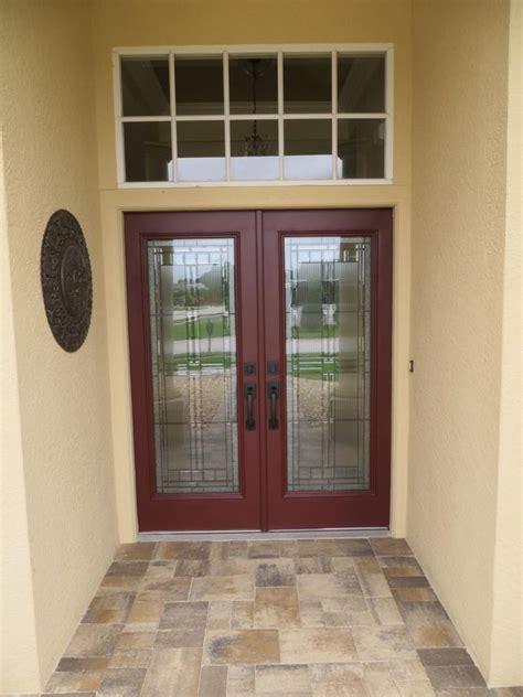 thermatru saratoga decorative door glass insert saratoga glass front door  gray door