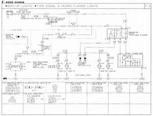 1991 Mazda B2600i Wiring Diagram  Turn Signal  Hazard