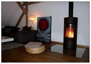 Protection Murale Anti Feu Poêle A Bois : etapes de la pose d 39 un appareil de chauffage bois ~ Melissatoandfro.com Idées de Décoration