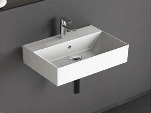 Waschbecken 60 X 30 : design keramik waschbecken waschtisch 60x42 cm ~ Markanthonyermac.com Haus und Dekorationen