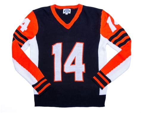 bengals colors buy bengals black orange colors unisex v neck sweater