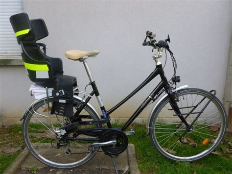 siege velo btwin transporter des enfants à vélo les solutions