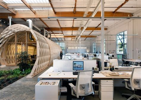creative office space layout contemporary office space in california blends creativity Creative Office Space Layout
