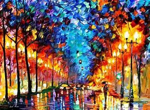 leonid-afremov-... Contemporary Impressionists Quotes