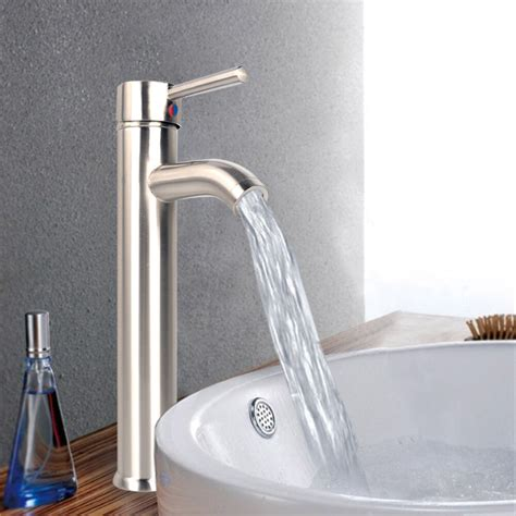 bathroom kitchen 12 quot tall single handle tub water channel faucet bathtub ebay