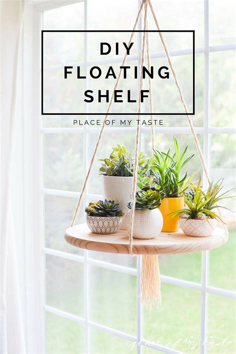 how to do interior decoration at home diy floating shelf to display your plants or other decor items