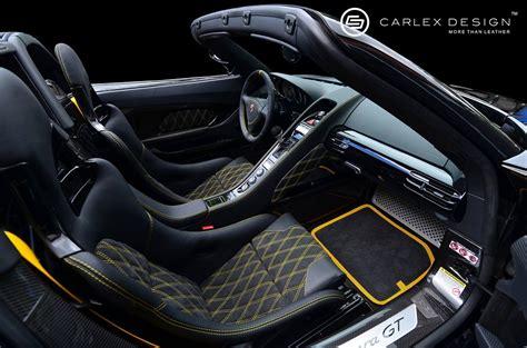 Porsche Carrera Gt New Interior Design
