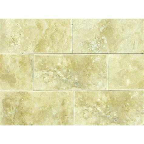 travertine tile natural stone tile tile the home depot