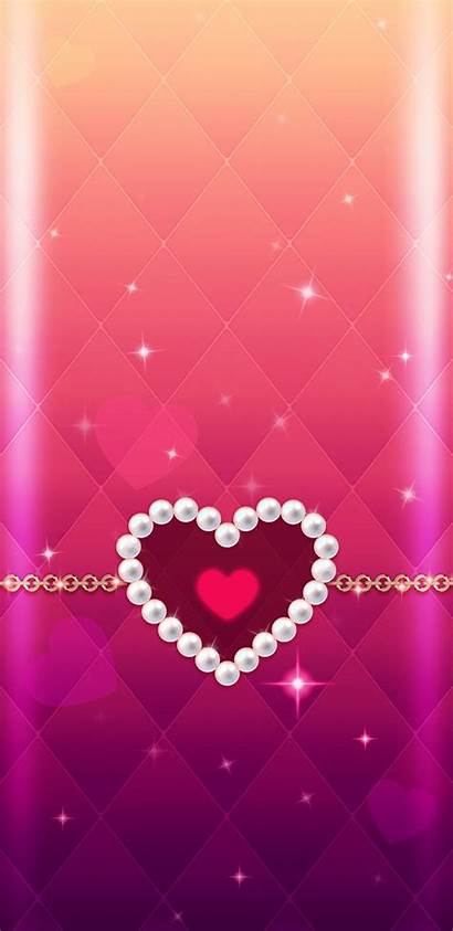 Heart Iphone Pretty Wallpapers Phone Backgrounds Hearts