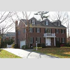 Brick Colonial House  Homes  Pinterest  Bricks, House