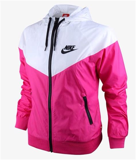 Jacket nike jacket nike nike windbreaker pink white pink and white nike windbreaker ...
