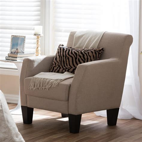 baxton studio baxton contemporary beige fabric upholstered