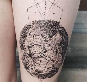 Tatouage Loup Geometrique : 1001 mod les de tatouage loup pour femmes et hommes ~ Melissatoandfro.com Idées de Décoration
