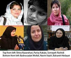 Widespread Arrests of Women's Rights Activists, Female ...