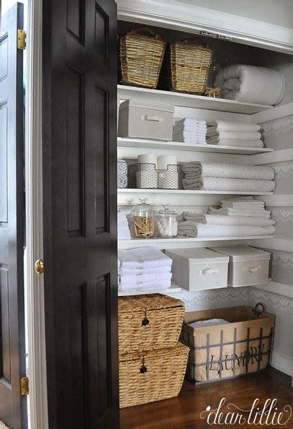 linen closet organization ideas    beautiful