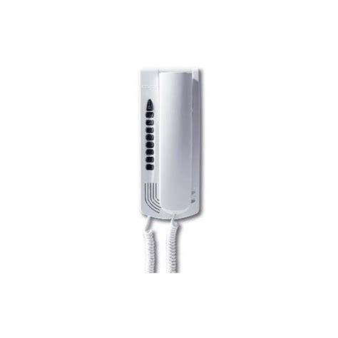 citofono elvox 6200 a cornetta petrarca da parete bianco sound system