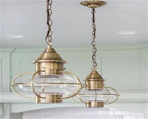 Cottage island pendant lighting, coastal pendant lighting