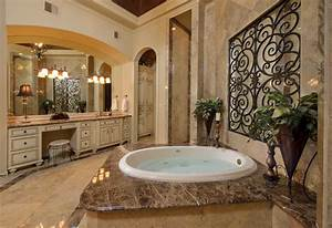 Elegant, Bathroom, Decorating, Ideas, With, Amazing, Wrought, Iron, Designs